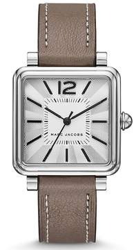 Marc Jacobs Vic Three-Hand Square Watch