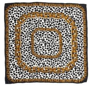 Marc Jacobs Women's Animal & Chain Print Silk Scarf