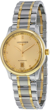 Longines Masters Champagne Dial Men's Watch