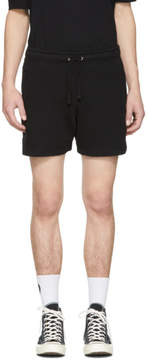 Faith Connexion Black Kappa Edition Plain Shorts