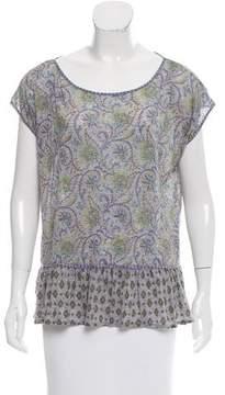 Calypso Printed Oversize T-Shirt