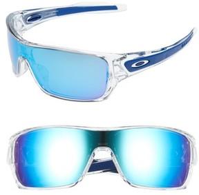 Oakley Men's Turbine Rotor 70Mm Sunglasses - Clear