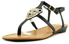 Thalia Sodi Elba Open Toe Canvas Sandals.
