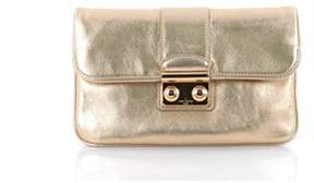 Louis Vuitton Pre-owned: Sofia Coppola Slim Clutch Leather. - GOLD - STYLE