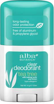 Alba Tea Tree Trial Size Deo Stick by 0.5oz Stick)