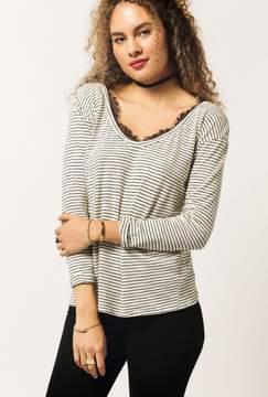 Azalea L/S Stripe Shirt