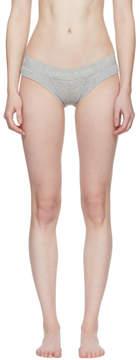 Calvin Klein Underwear Grey Cotton Bikini Briefs