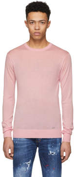 DSQUARED2 Pink Cashmere Sweater