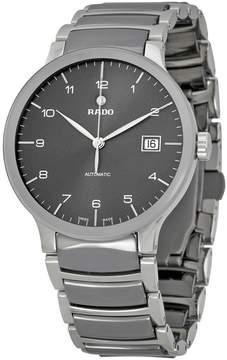 Rado Centrix Grey Dial Two-tone Bracelet Men's Watch