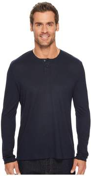 Kenneth Cole Sportswear Techy Thermal Henley Men's Clothing