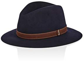 Borsalino Men's Alessandria Indiana Jones Rabbit Fur Felt Fedora