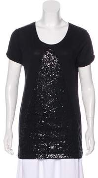 Eleven Paris ElevenParis Sequin Knit Top