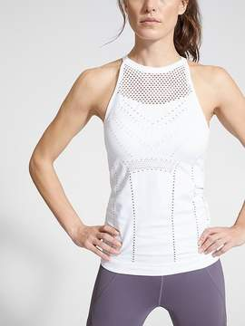 Athleta Diamond Mesh Trophy Tank
