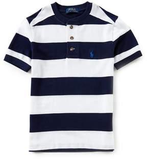 Ralph Lauren Big Boys 8-20 Short-Sleeve Stripe Henley Tee