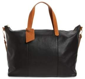 Sole Society Candice Oversize Travel Tote - Black