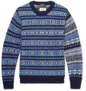 Beams Gim Fair Isle Wool Sweater