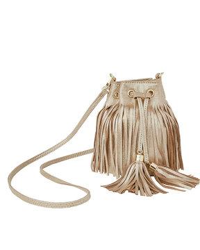 Lilly Pulitzer Sunset Safari Fringe Crossbody Bag