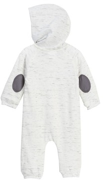 Calvin Klein Marled Heather Baby French Terry Hooded Coverall (Baby Boys)