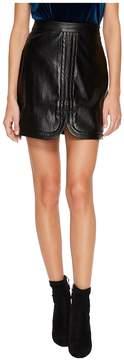 Bishop + Young Faye Vegan Mini Skirt Women's Skirt