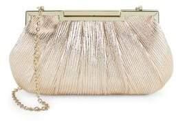 La Regale Textured Metallic Crossbody Bag