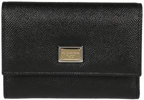 Dolce & Gabbana Leather French Wallet - NERO - STYLE