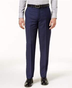 Ryan Seacrest Distinction Men's Modern-Fit Navy Birdseye Pants, Created for Macy's