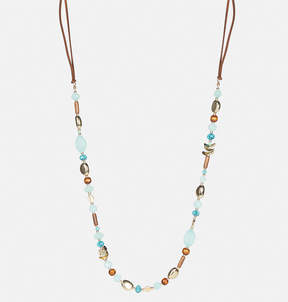 Avenue Turquoise Bead Cord Necklace