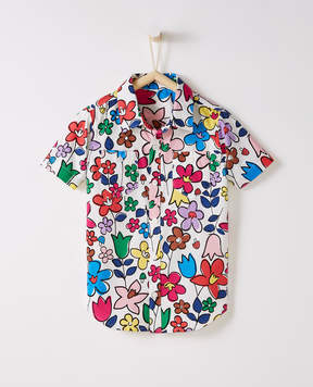 Hanna Andersson Print Buttonfront Shirt