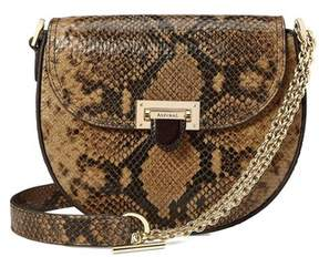 Aspinal of London Portobello Bag In Mustard Python Print