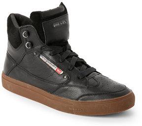 Diesel Black Revolution Claw King High Top Sneakers
