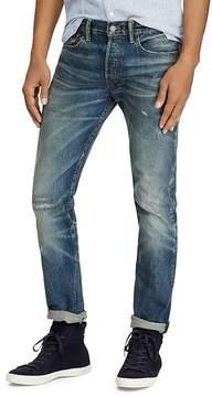 Polo Ralph Lauren Varick Slim Straight Fit Jeans in Blue