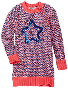 Petit Lem Knit Dress (Toddler & Little Girls)
