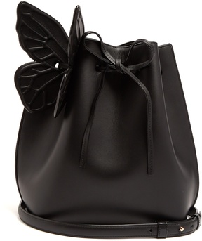 SOPHIA WEBSTER Remi leather bucket bag