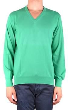 Ballantyne Men's Mcbi032073o Green Cotton Sweater.