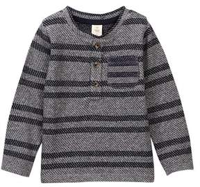 Tucker + Tate Twill Stripe Long Sleeve Tee (Baby Boys)