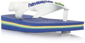 Havaianas Baby Brasil Logo Flip Flops