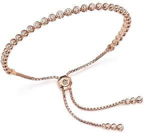 Bloomingdale's Diamond Bezel Tennis Bolo Bracelet in 14K Rose Gold, 1.20 ct. t.w. - 100% Exclusive