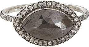 Black Diamond Zoe Women's & Oxidized Platinum Ring