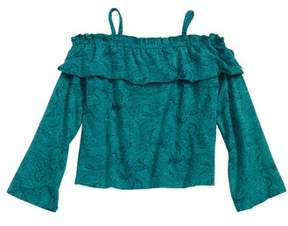 O'Neill Toddler Girl's Riley Off-Shoulder Top