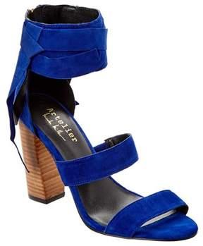 Nicole Miller Artelier Pompano Suede Sandal.