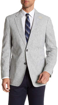 Kroon Bono Stripe Two Button Notch Lapel Jacket