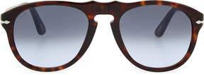 Persol Havana aviator sunglasses