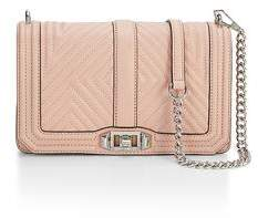 Rebecca Minkoff Geo Quilted Love Crossbody - ONE COLOR - STYLE