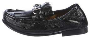 Gucci Girls' Patent Leather Loafers