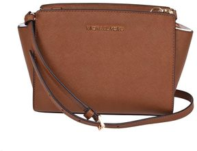 Michael Kors Michel Kors Medium Selma Crossbody Bag - BROWN - STYLE