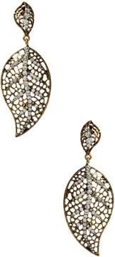 Amrita Singh Women's Brookville Leaf Statement Earrings