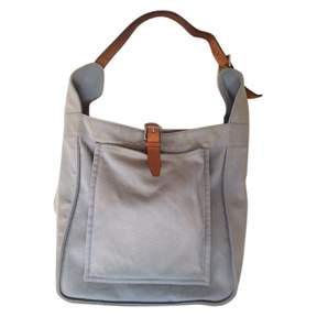 Hermes Blue Cloth Handbag - BLUE - STYLE