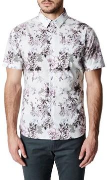 7 Diamonds Men's Aura Floral Sport Shirt