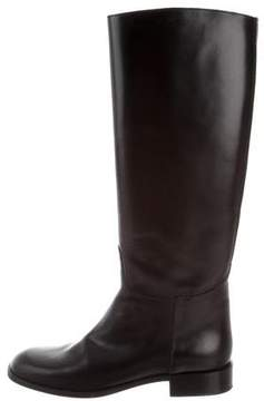 Marc Jacobs Leather Riding Boots