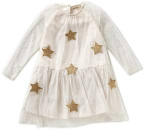Jessica Simpson Little Girls 2T-6X Star-Applique Dress